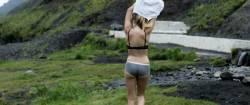 Maika Monroe nude butt and sex - Bokeh (2017) HD 1080p Web (6)