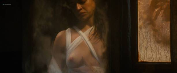 Michelle Rodriguez nude full frontal Caitlin Gerard nude and Lia Lam hot - The Assignment (2016) HD 1080p (4)