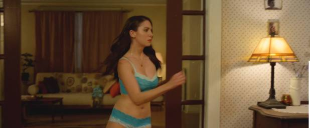 Alison Brie hot and sexy in bra and panties - No Stranger Than Love (2015) HD 1080p WEB (15)