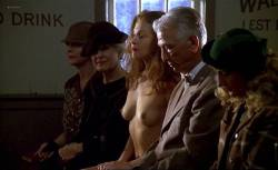 Ashley Judd nude topless and bush and Mira Sorvino nude - Norma Jean & Marilyn (1996) (9)