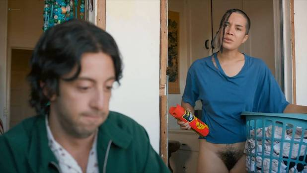 Clare O'Kane nude full frontal and butt – Budding Prospects (2017) s1e01 HD 1080p Web (1)