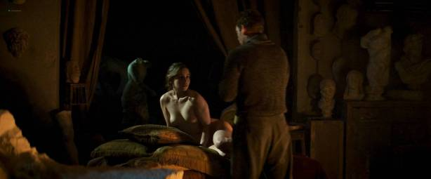 Emilia Clarke nude and sex - Voice from the Stone (2017) HD 1080p WEB (6)