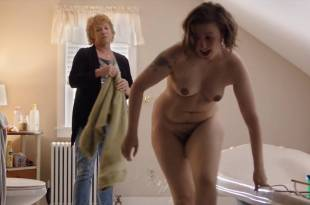 Lena Dunham nude full frontal Allison Williams lingerie – Girls (2017) s6e10 HD 720p