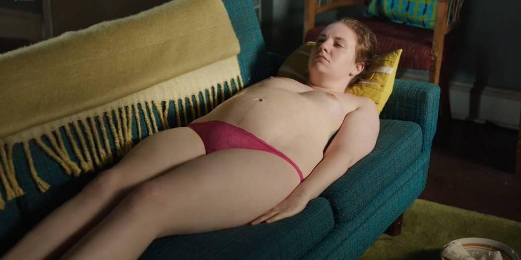 Lena Dunham nude topless Jemima Kirke nude sex - Girls (2017) s6e8 HD 720p (5)