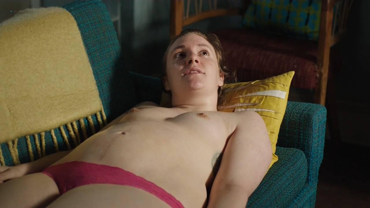 Lena Dunham nude topless Jemima Kirke nude sex - Girls (2017) s6e8 HD 720p (3)