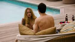 Malin Akerman hot in lingerie other oral and topless - Billions (2017) s2e7 HDTV 720p (10)