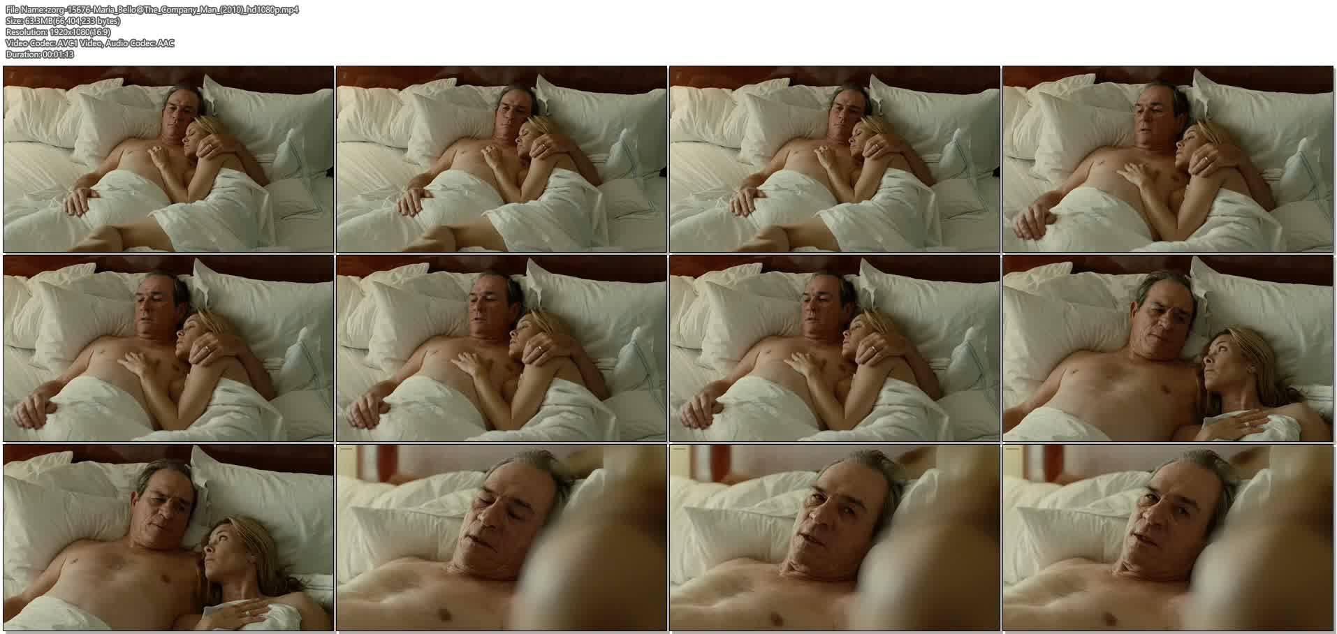Maria Bello nude topless - The Company Man (2010) HD 1080p (6)