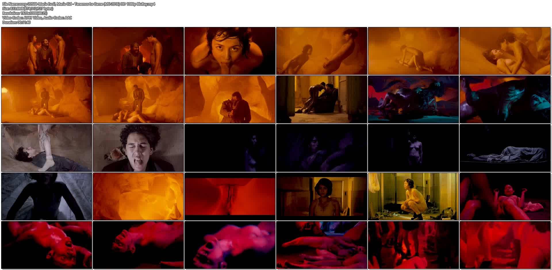 María Evoli nude explicit bj, piss and María Cid nude sex - Tenemos La Carne (MX-2016) HD 1080p BluRay (15)