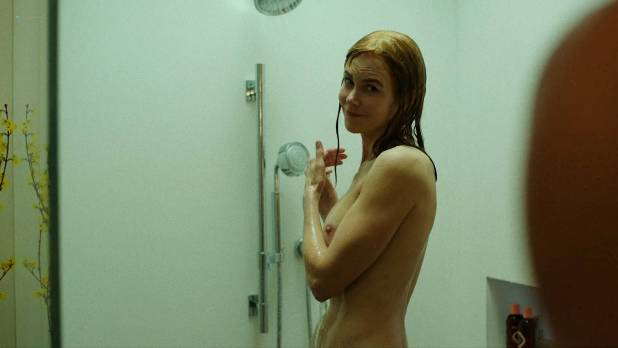 Nicole Kidman nude side boob and butt in the shower - Big Little Lies (2017) s1e7 HD 1080p Web (10)