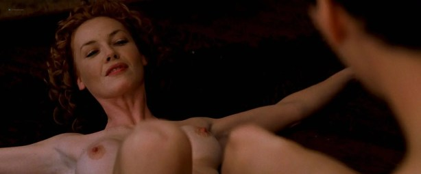 Charlize Theron nude full frontal Connie Nielsen nude bush - The Devil's Advocate (1997) HD 1080p BluRay (10)
