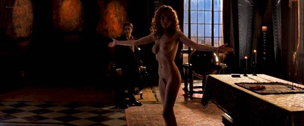 Charlize Theron nude full frontal Connie Nielsen nude bush - The Devil's Advocate (1997) HD 1080p BluRay (3)