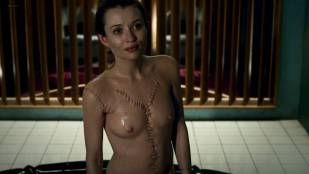 Emily Browning nude topless and wet - American Gods (2017) s1e5 HD 1080p web