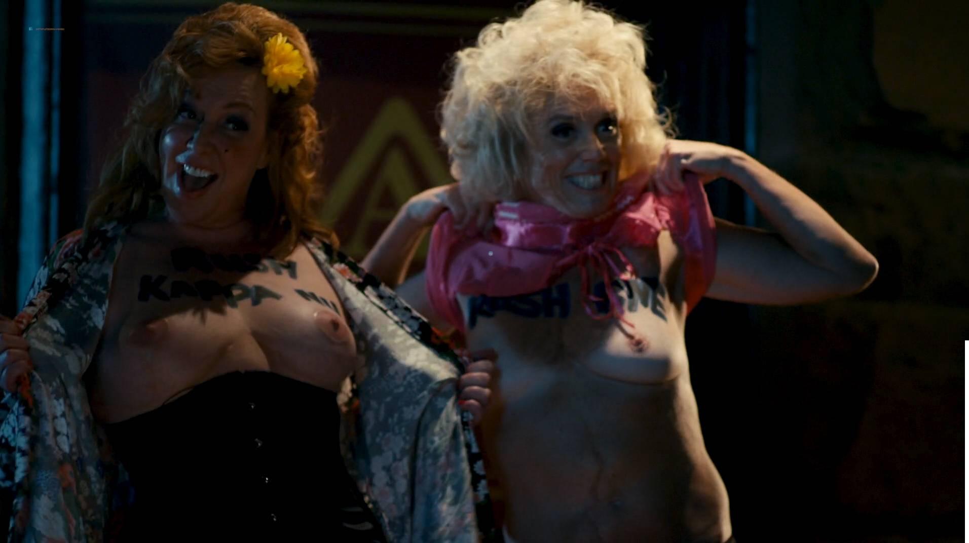 Jennifer Krukowski nude topless Aubrey Ferron and others all nude - Total Frat Movie (2016.) HD 1080p WEB (14)
