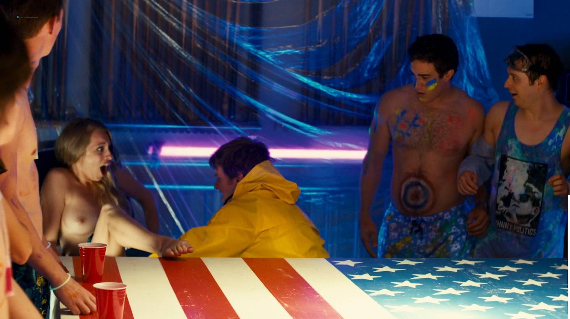 Jennifer Krukowski nude topless Aubrey Ferron and others all nude - Total Frat Movie (2016.) HD 1080p WEB (4)