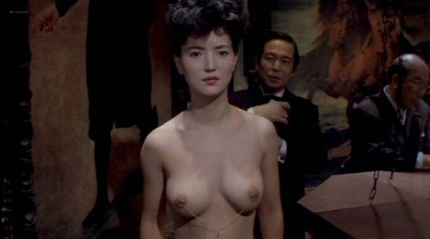 Jun Izumi nude watersport and lot of sex - Woman with Pierced Nipples (JP-1983) (1)