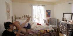 Kathryn Hahn nude full frontal Roberta Colindrez and Dahlya Glick bush - I Love Dick (2017) s1e5 HD 720p (3)