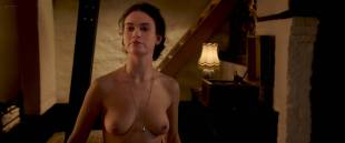 Lily James nude butt, topless and sex - The Exception (2016) HD 1080p WEB