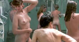 Linda Blair nude Linnea Quigley nude bush Suzee Slater and Rebecca Perle nude too - Savage Streets (1984) HD 1080p BluRay (8)