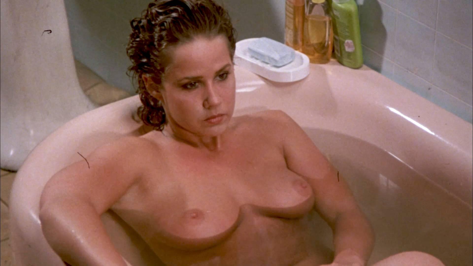 Linda Blair nude Linnea Quigley nude bush Suzee Slater and Rebecca Perle nude too - Savage Streets (1984) HD 1080p BluRay (2)