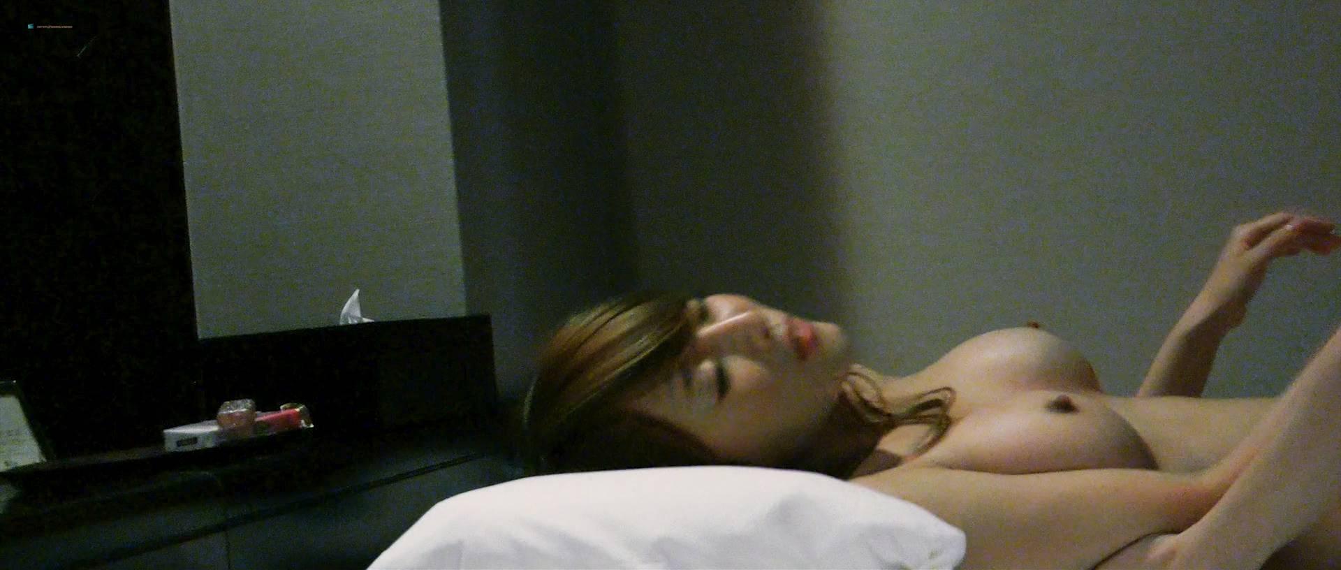 Misaki Morino nude Mitsue Wakamatsu and Natsuko Kimura nude sex, lesbian - Atashira (JP-2017) HD 1080p BluRay (13)