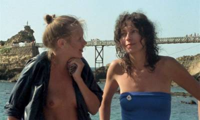 Paulette Christlein nude topless and cute - Le rayon vert (FR-1986) HD 720p (3)