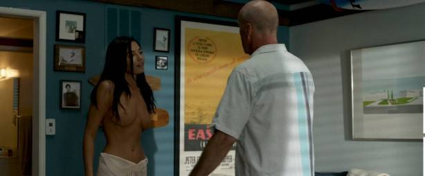 Jessica Gomes nude topless and sex - Once Upon a Time in Venice (2017) HD 1080p WEB (5)