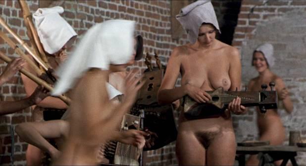 Josephine Chaplin nude butt Jenny Runacre nude full frontal- The Canterbury Tales (1972) HD 1080p BluRay (13)