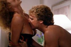 Kimberly McArthur nude topless Sybil Danning, Barbara Edwards other's nude too - Malibu Express (1985) (16)