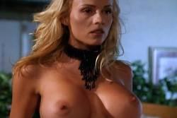 Kimberly McArthur nude topless Sybil Danning, Barbara Edwards other's nude too - Malibu Express (1985) (3)