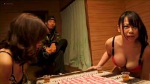 Miyuki Yokoyama nude sex and Peach Momomiya nude too - Camp (JP-2014) (6)