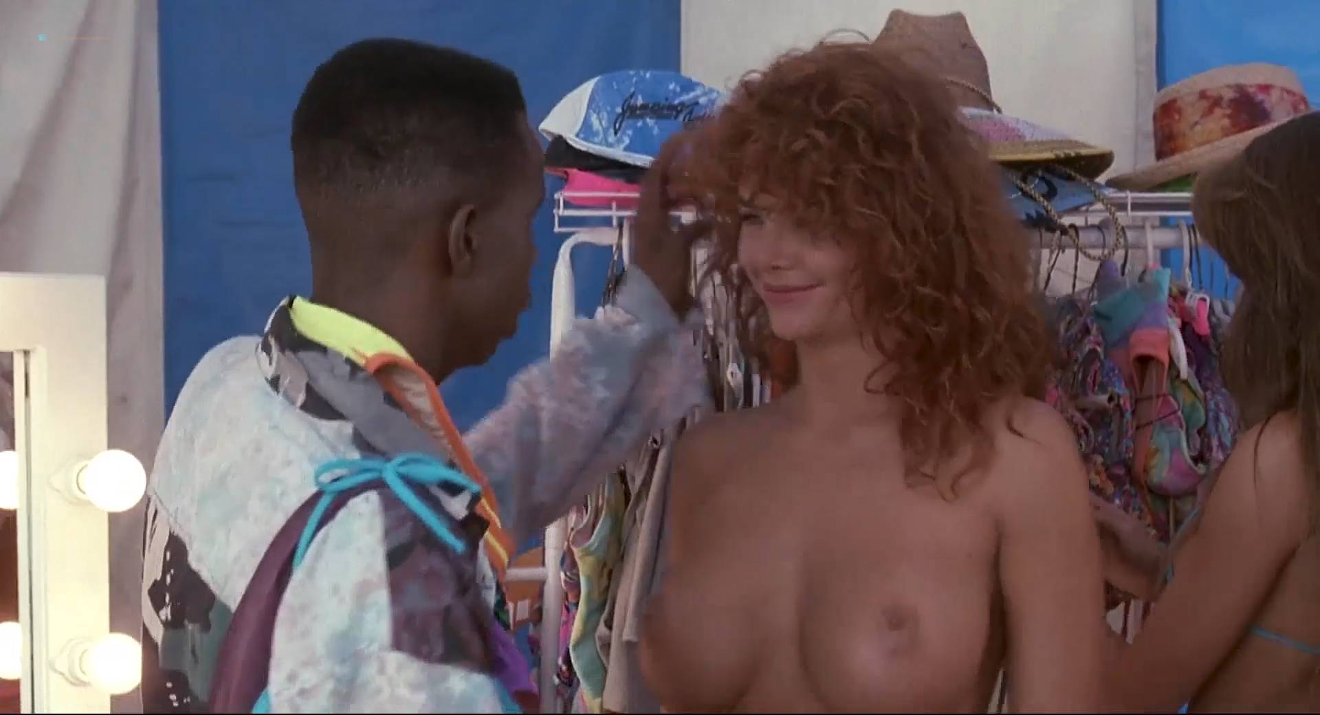 Monique Gabrielle nude busty Michelle Grassnick huge boobs - Miracle Beach (1992) HD1080p BluRay (3)