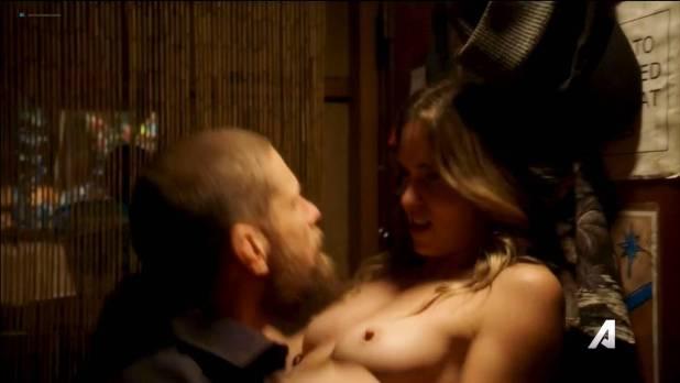 Anna Hutchison nude topless and sex Kira Noir nude sex too - Kingdom (2017) s3e5 HDTV 720p (6)