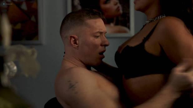 La La Anthony nude topless and sex - Power (2017) s4e4 HD 1080p Web (9)