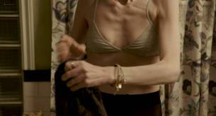 Lily Collins nude side boob - To The Bone (2017) HD 1080p Web (9)