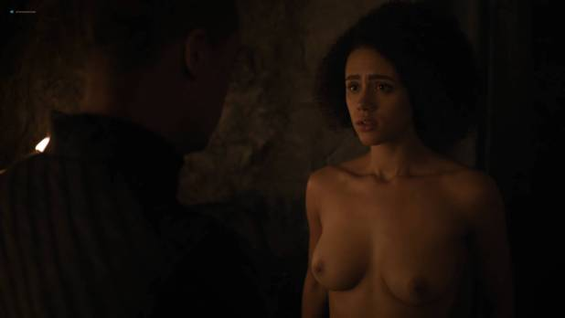 Nathalie Emmanuel nude topless and butt - GoT (2017) s7e2 HD 1080p Web (11)
