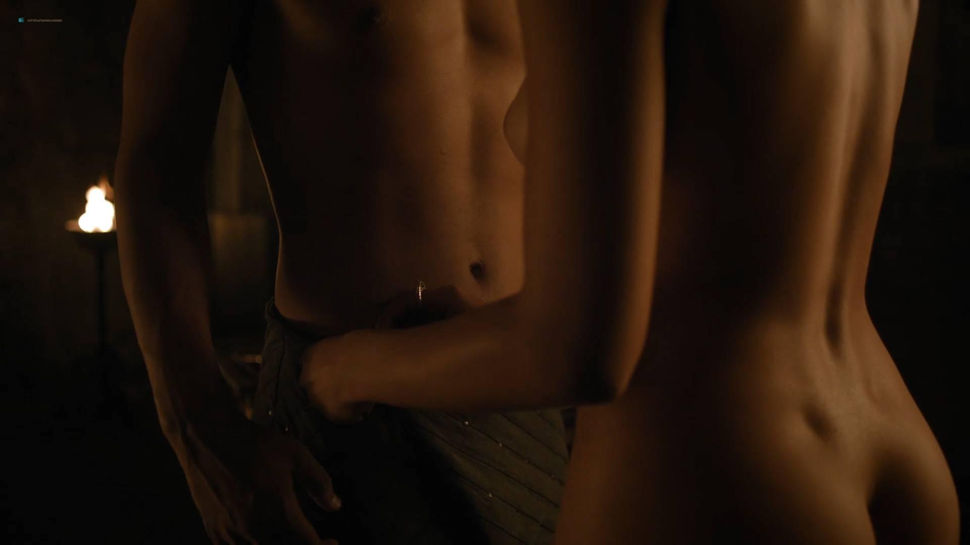 Nathalie Emmanuel nude topless and butt - GoT (2017) s7e2 HD 1080p Web (9)