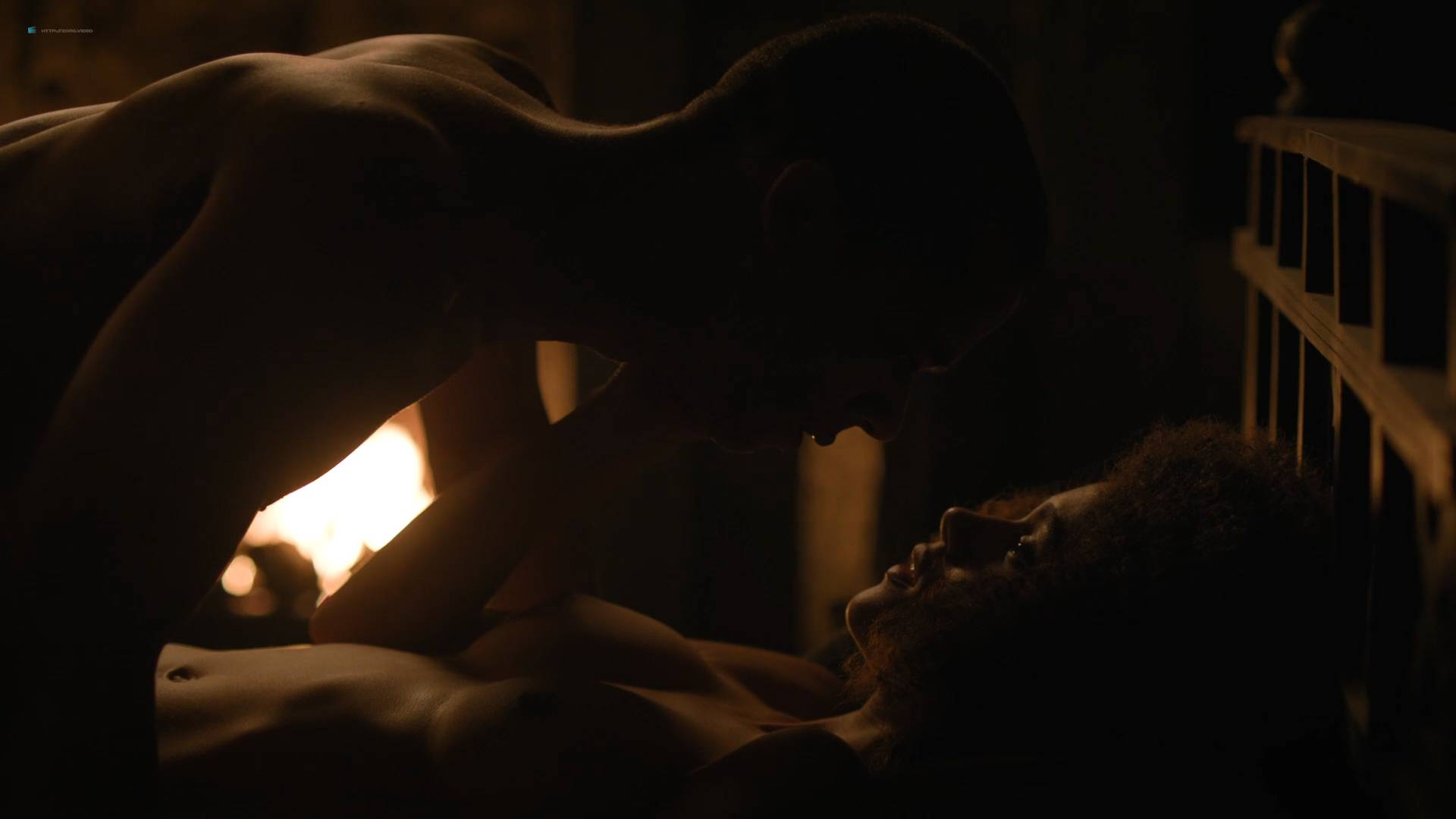 Nathalie Emmanuel nude topless and butt - GoT (2017) s7e2 HD 1080p Web (4)