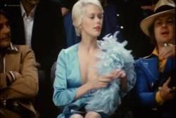 Sylvia Kristel nude bush and boobs - Naakt over de schutting (NL-1973) VHS (18)