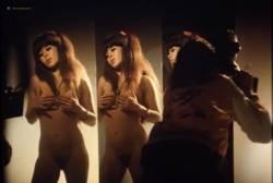 Sylvia Kristel nude bush and boobs - Naakt over de schutting (NL-1973) VHS (15)