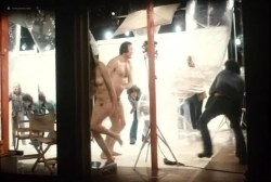 Sylvia Kristel nude bush and boobs - Naakt over de schutting (NL-1973) VHS (9)