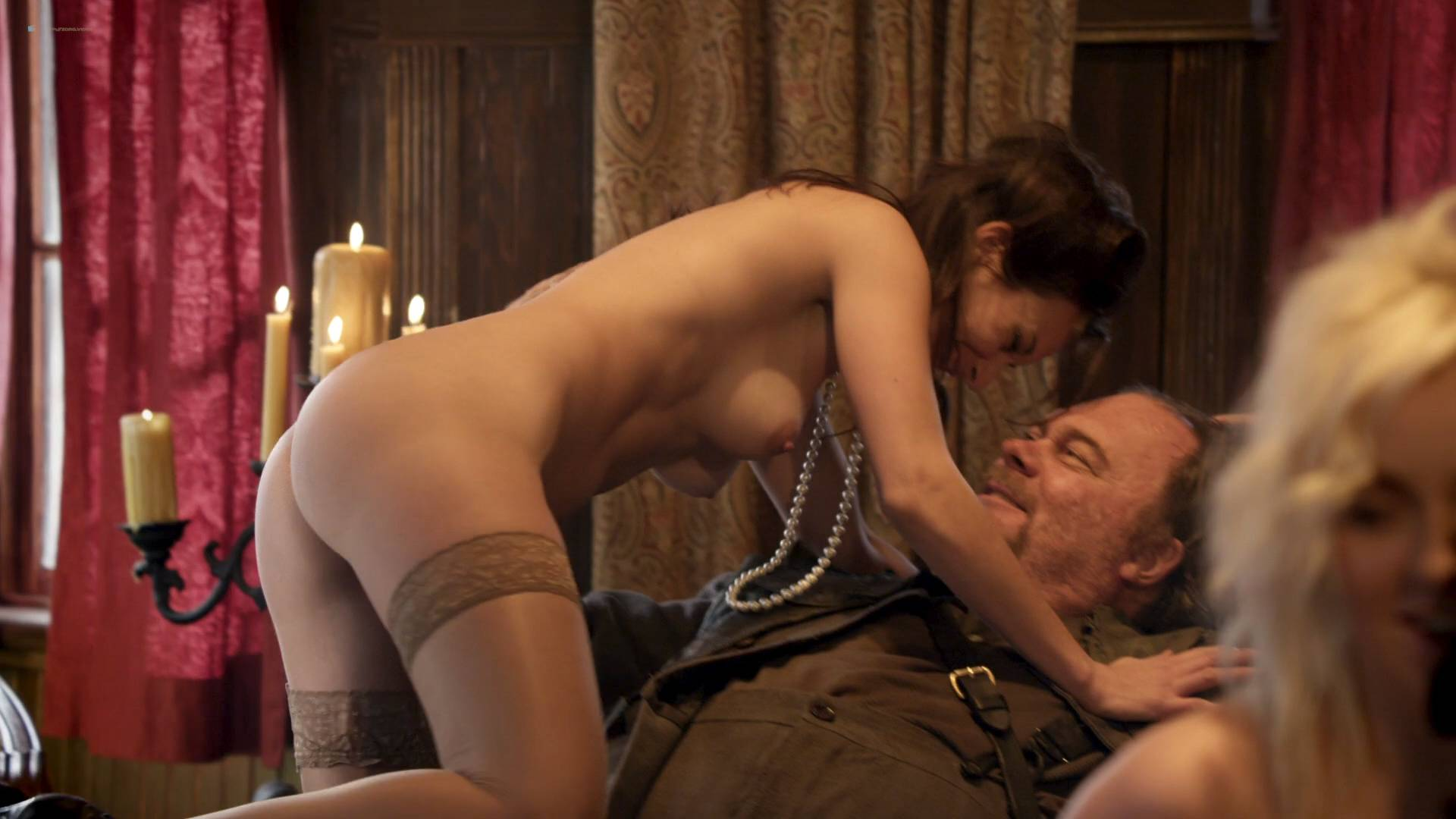 Elizabeth Lavender nude topless Elysia Rotaru nude butt boobs - Dead Again in Tombstone (2017) HD 1080p BluRay (15)