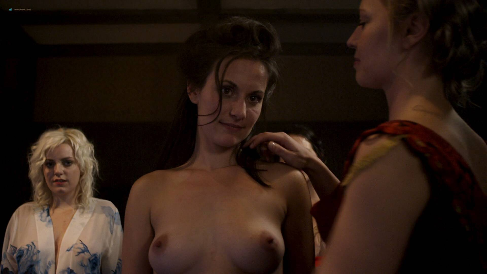 Elizabeth Lavender nude topless Elysia Rotaru nude butt boobs - Dead Again in Tombstone (2017) HD 1080p BluRay (13)
