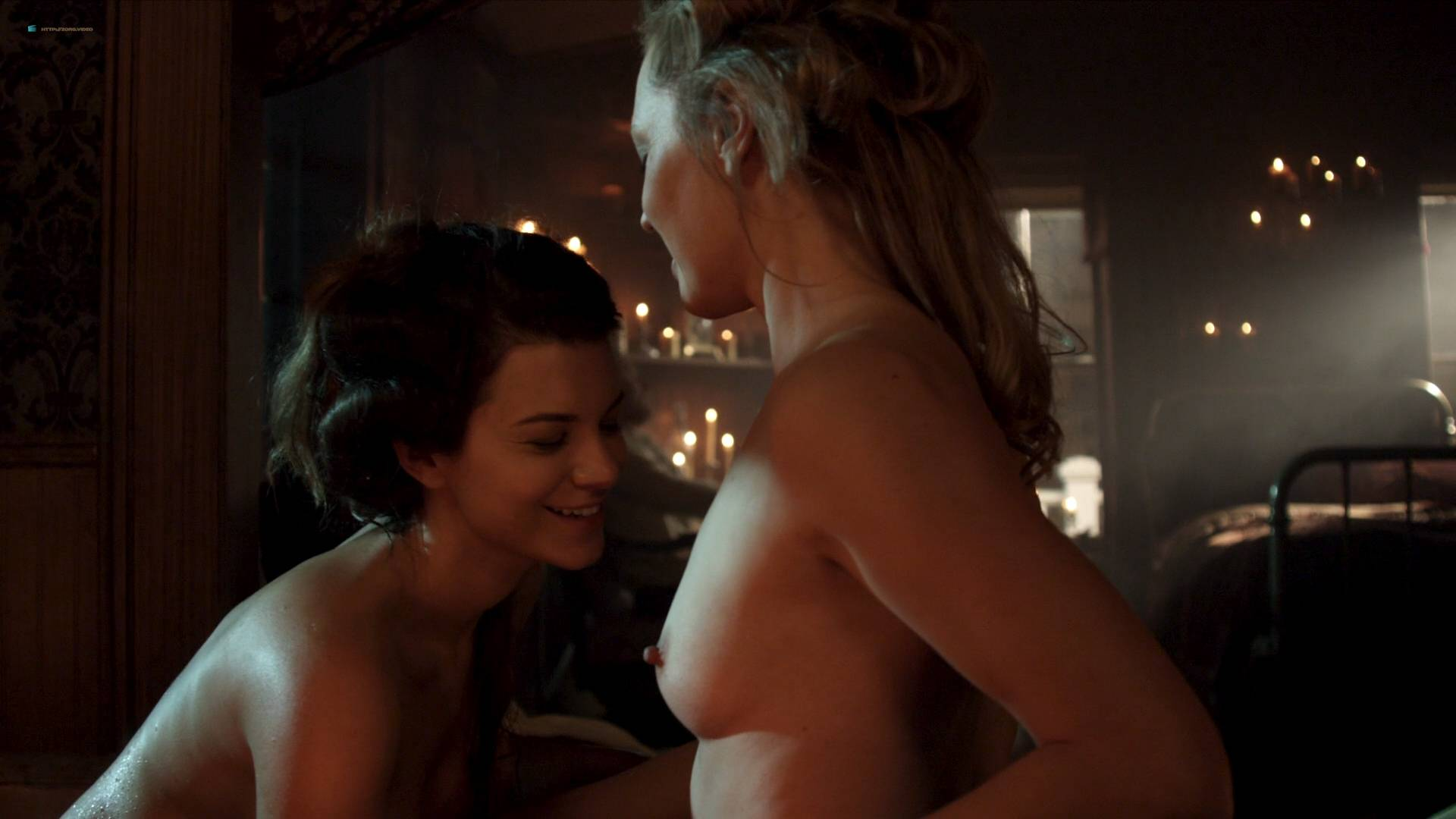 Elizabeth Lavender nude topless Elysia Rotaru nude butt boobs - Dead Again in Tombstone (2017) HD 1080p BluRay (8)