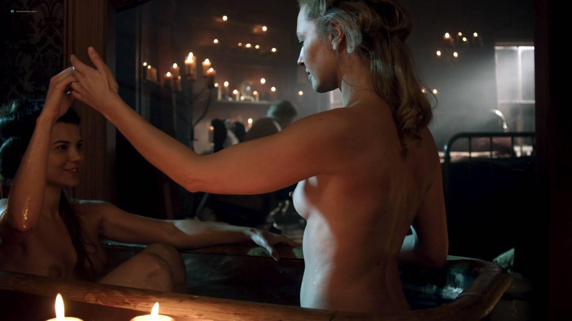 Elizabeth Lavender nude topless Elysia Rotaru nude butt boobs - Dead Again in Tombstone (2017) HD 1080p BluRay (7)