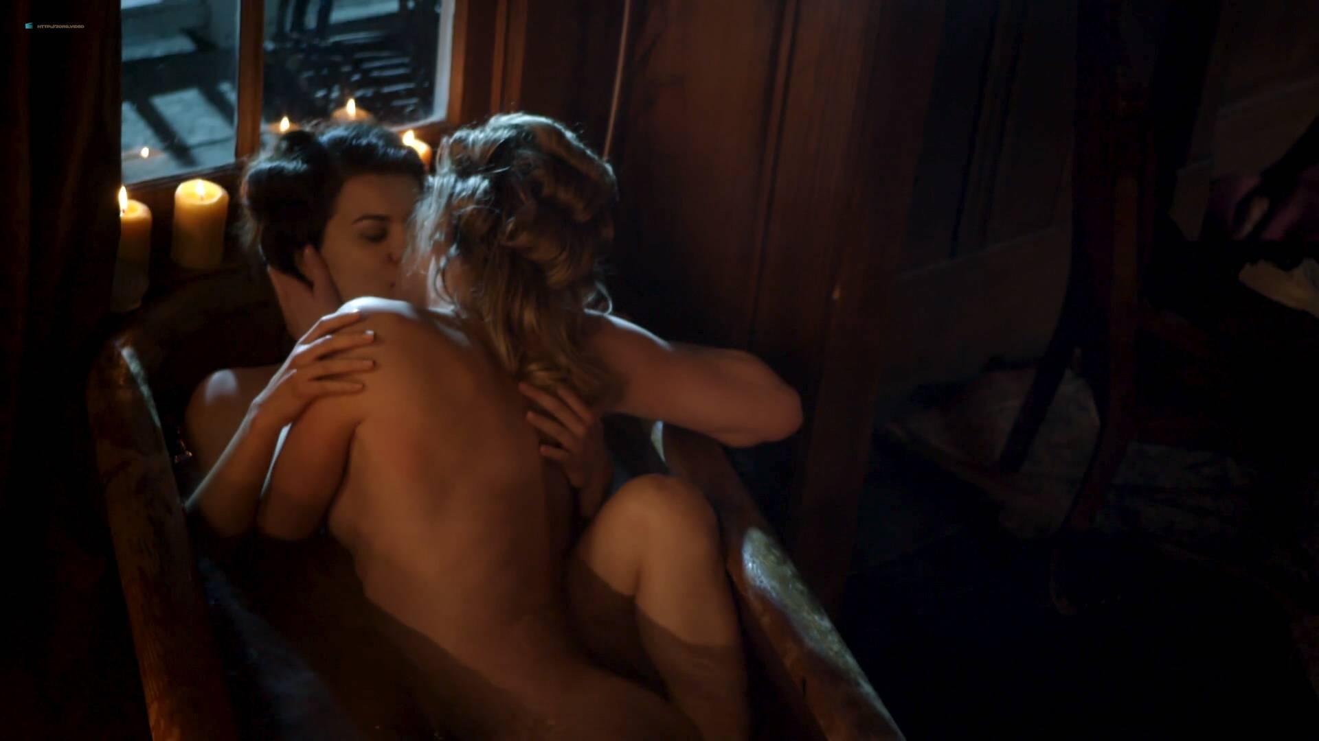 Elizabeth Lavender nude topless Elysia Rotaru nude butt boobs - Dead Again in Tombstone (2017) HD 1080p BluRay (6)