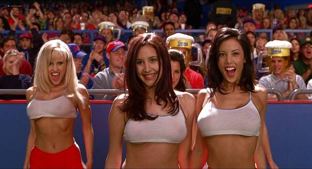 Jenny McCarthy hot Victoria Silvstedt sexy other's hot - BASEketball (1998) HD 1080p BluRay (7)