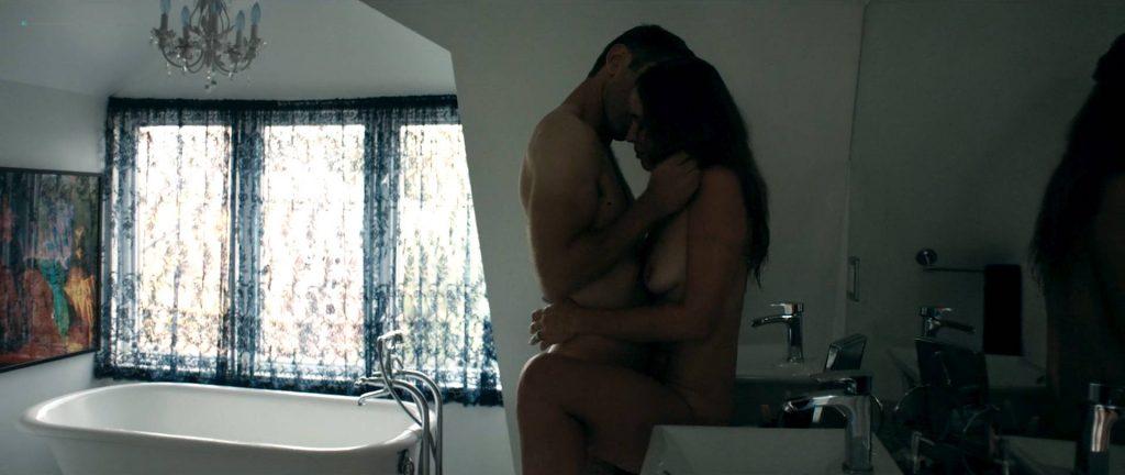 Natalie Krill nude bush Erika Linder nude lot of sex - Below Her Mouth (2016) HD 1080p Web (2)