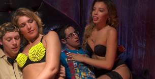 Rachel Riley nude topless Ivy Salazar other's nude too - Last Day of School (2016) HD 1080p (7)