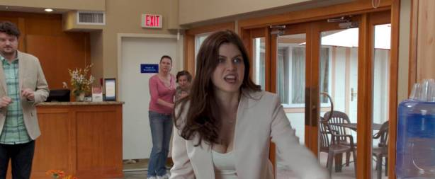 Alexandra Daddario hot sex doggy style Kate Upton hot cleavage - The Layover (2017) HD 1080p Web (3)