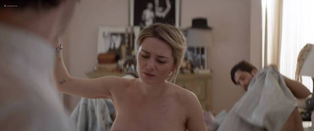Ashley Benson hot Addison Timlin nude side boob - Chronically Metropolitan (2016) HD 1080p (5)